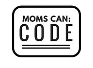 moms can: code logo